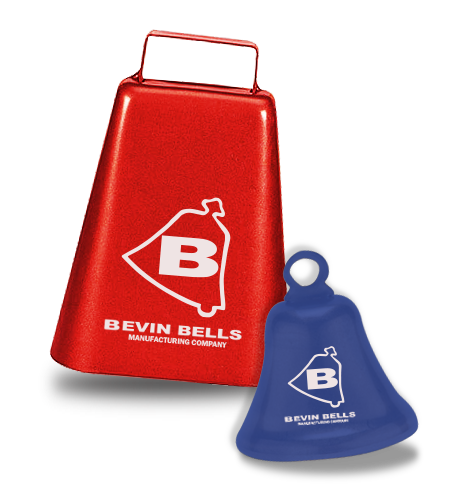 Custom imprinted cowbells