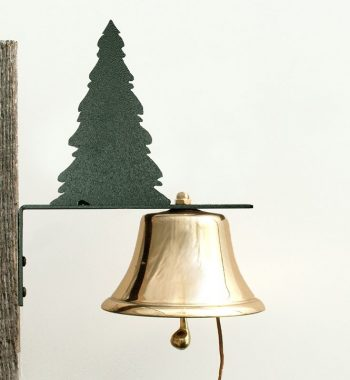 Bevin Patio Bell with Evergreen Tree