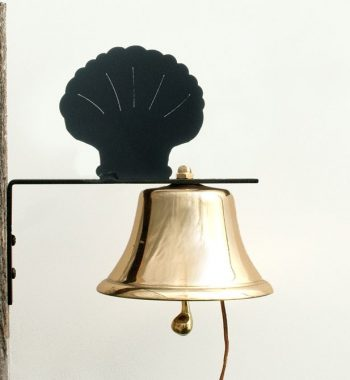 Bevin Patio Bell with Scallop