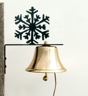 Bevin Patio Bell with Snowflake